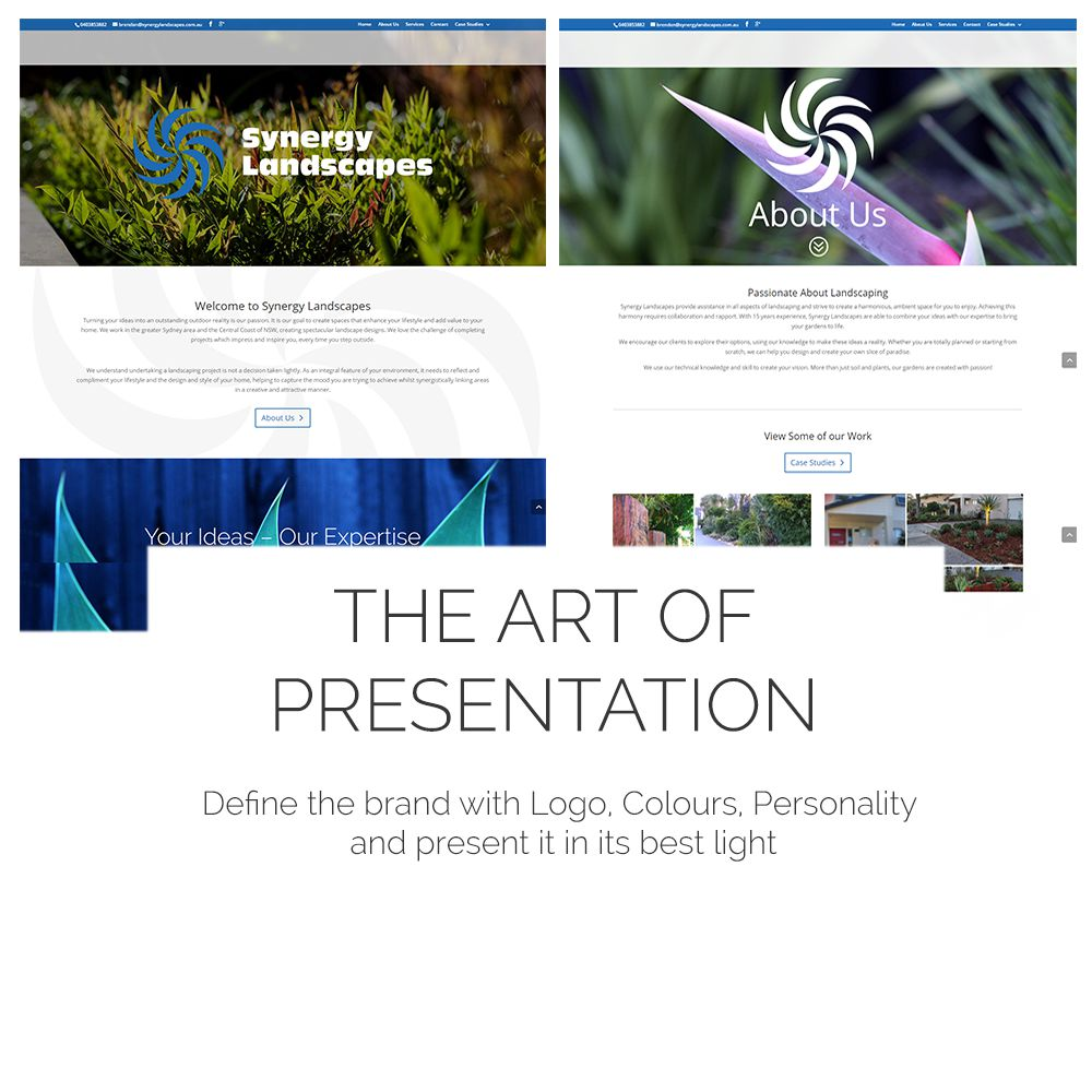 Landscape WebSite Case Study