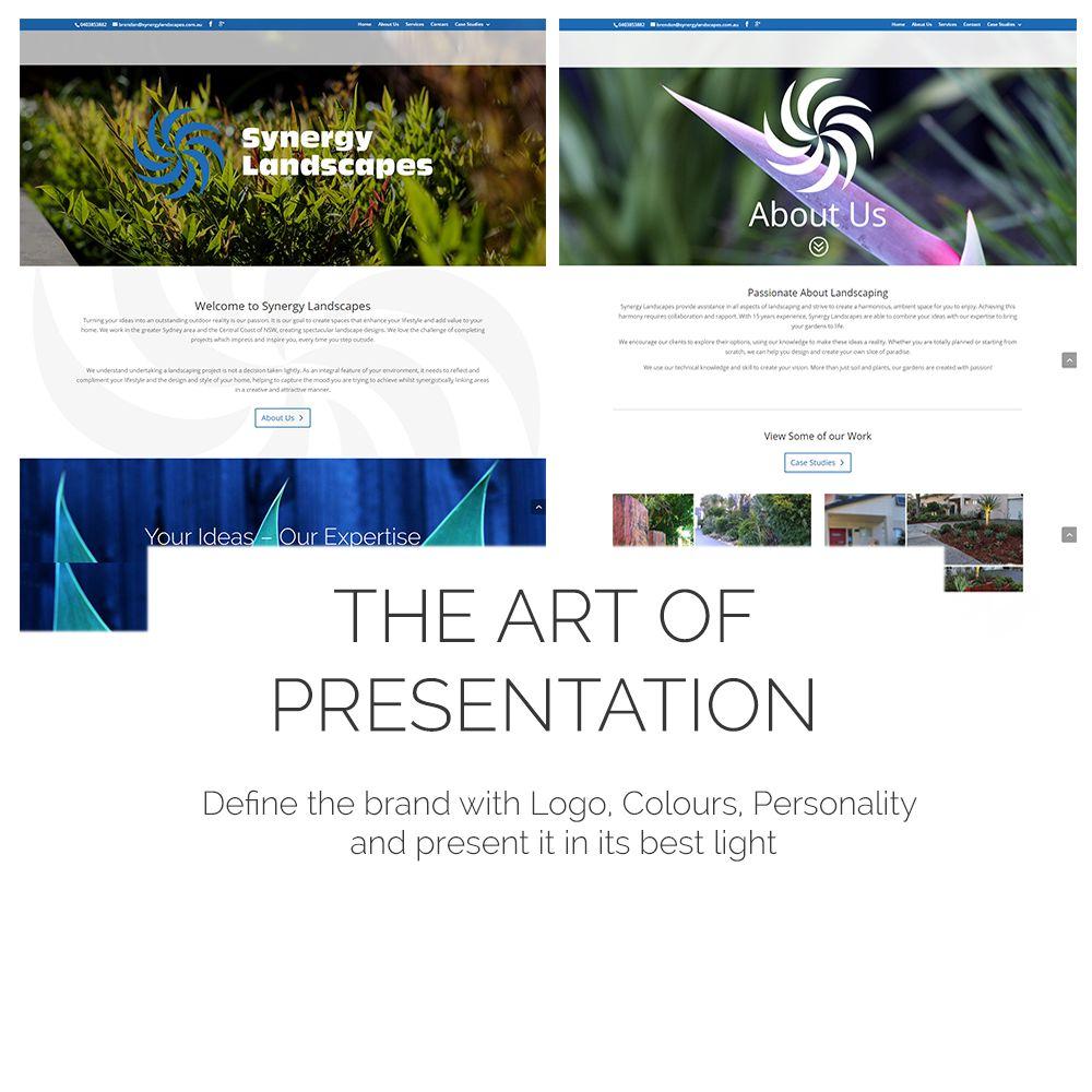 Synergy Landscape Website Case Study